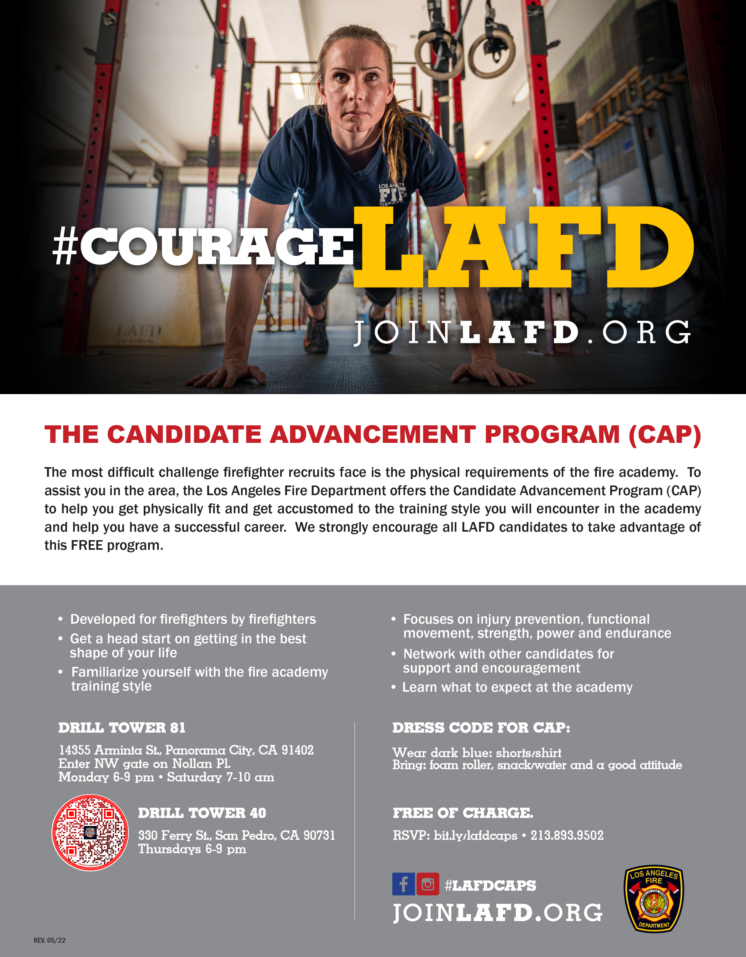 Candidate Assistance Program Flier